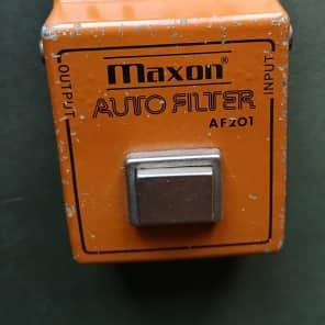 1970s Maxon AF-201 Envelope Filter Auto Wah MIJ Japan Ibanez Effect Mu-tron Clone Ultra Rare for sale