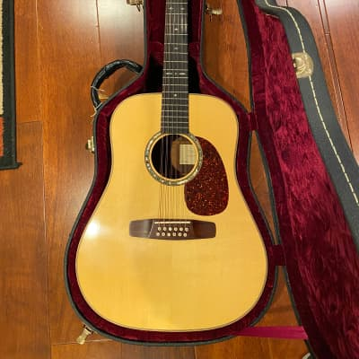 Musser 12 string dreadnaught 1998 Natural for sale