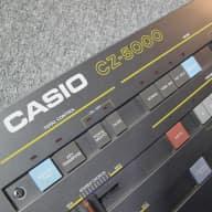 Casio  CZ-5000 61-Key Synthesizer w/Road Case, Manuals, etc. 1985