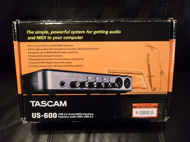 TASCAM US-600 Audio Interface Windows 8 Driver Download