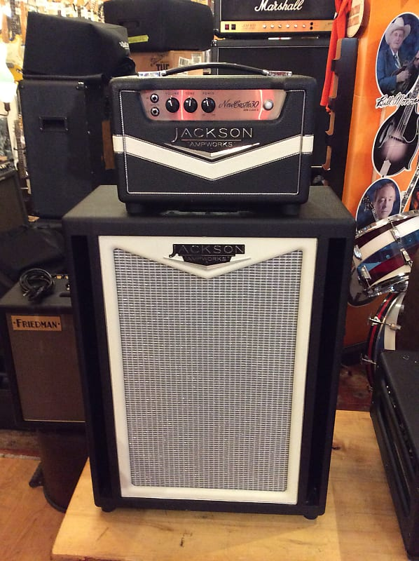 jackson ampworks newcastle 30 head and 2x12 verticle cab reverb. Black Bedroom Furniture Sets. Home Design Ideas