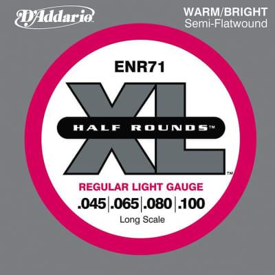 D\'Addario ENR71 Half Rounds Light Bass Strings