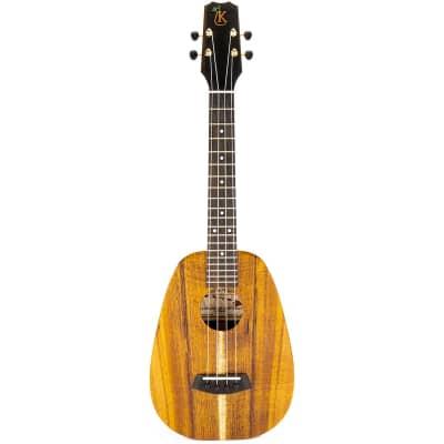 Kanile'a P1-T-DLX-G Tenor Deluxe Koa Pineapple Ukulele (#0220-22639) - 0220-22639 for sale