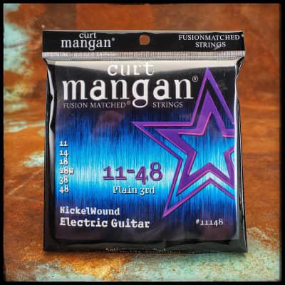 Curt Mangan Nickelwound Electric Guitar 11-48