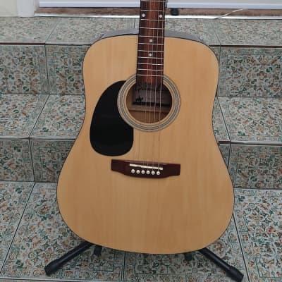 Left Handed Grimshaw Dreadnought Acoustic Guitar for sale