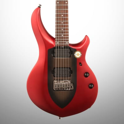 Sterling by Music Man MAJ100 John Petrucci Majesty Electric Guitar, Ice Crimson Red