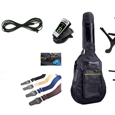 Acoustic Electric Guitar 12 Strings Built in Tuner, EQ Natural iMusic12EQ with Full Package for sale