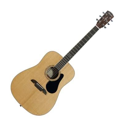 Alvarez AD60 Artist Series Dreadnought Acoustic Guitar, Natural Gloss Finish