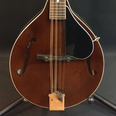 Kentucky KM-156 Standard A-Style Mandolin Transparent Brown w/ Travel Case for sale
