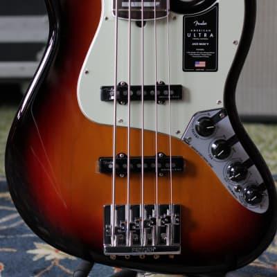 Fender American Ultra Jazz Bass V 2019 - 2020 Ultraburst for sale
