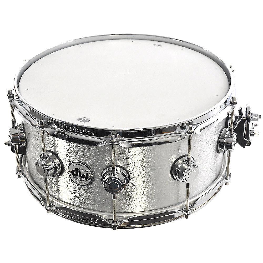 95aae7c467c1 DW 6.5x14 Aluminum Snare Drum w True Hoops