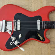 Klira Ohio guitar ~1965 Red Tolex - made in Germany for sale
