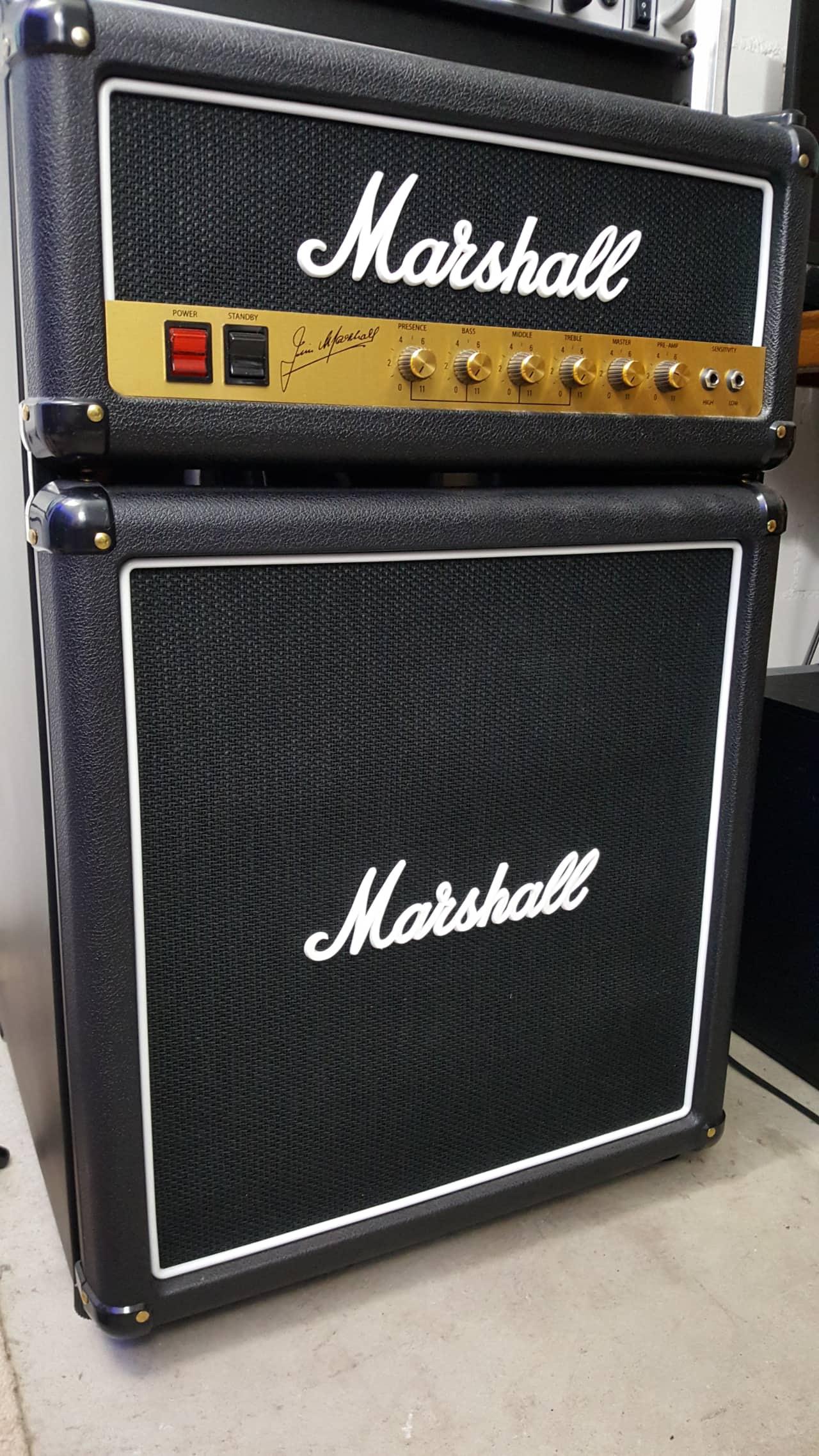 Marshall Fridge Modell 2014/2015 2014 Black | Musiker TV | Reverb