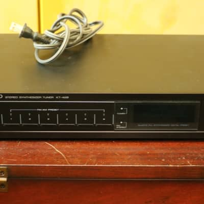 Kenwood KT-428 Stereo AM/FM Synthesizer Tuner - Vintage Component - Tested