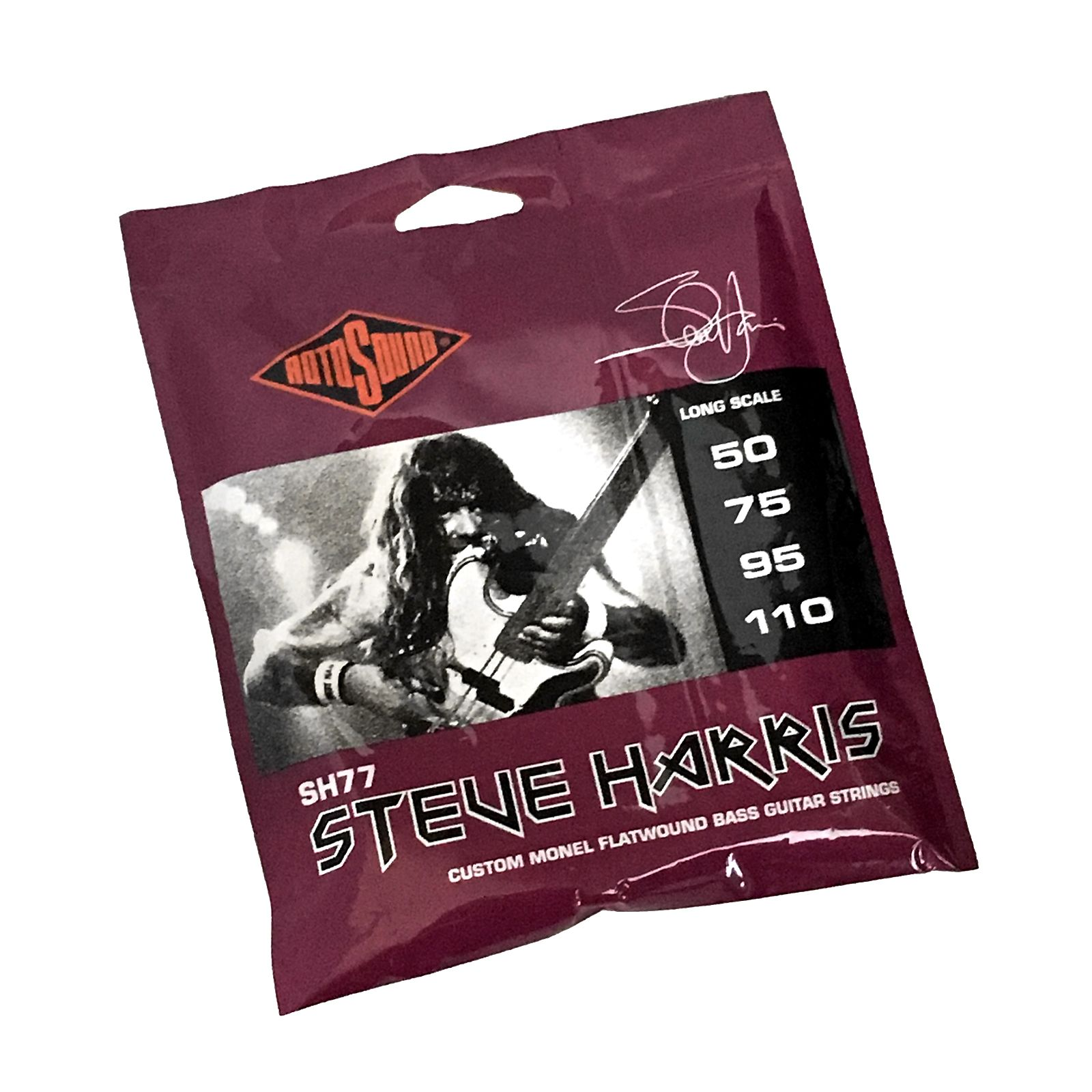 rotosound sh77 steve harris signature flat wound bass strings reverb. Black Bedroom Furniture Sets. Home Design Ideas