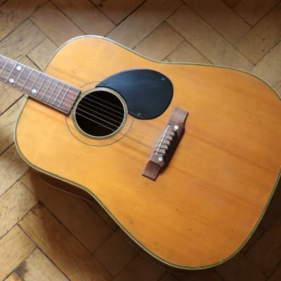 (PROJECT) MIJ Angelica Oversize Dreadnought c.1965 Spruce + Maple + JAPAN! for sale