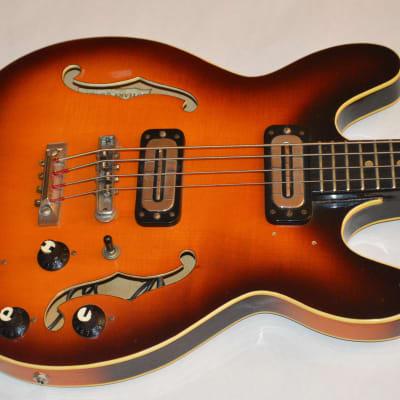 Hoyer 335 1960 II Germany Set Neck Excellent Hard Case Low Action Sunburst for sale