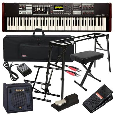 Hammond SK1-73 Portable Organ COMPLETE STAGE BUNDLE
