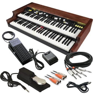 Crumar Mojo Classic Dual Manual Organ - Cable Kit