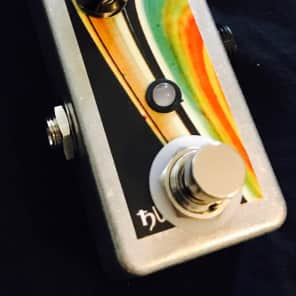 Saturnworks Switchable Latching TRS Expression Switch Pedal, Neutrik Jack, Handcrafted in California