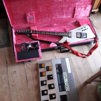 Roland G-707 1986 Guitar Synth + Floor Based Synth Unit RARE! 80s heaven for sale
