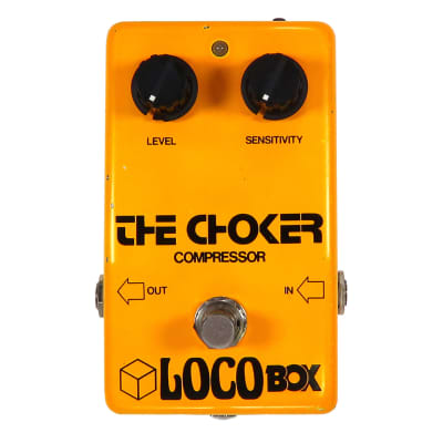 LocoBox The Choker Compressor Pedal Made in Japan for sale