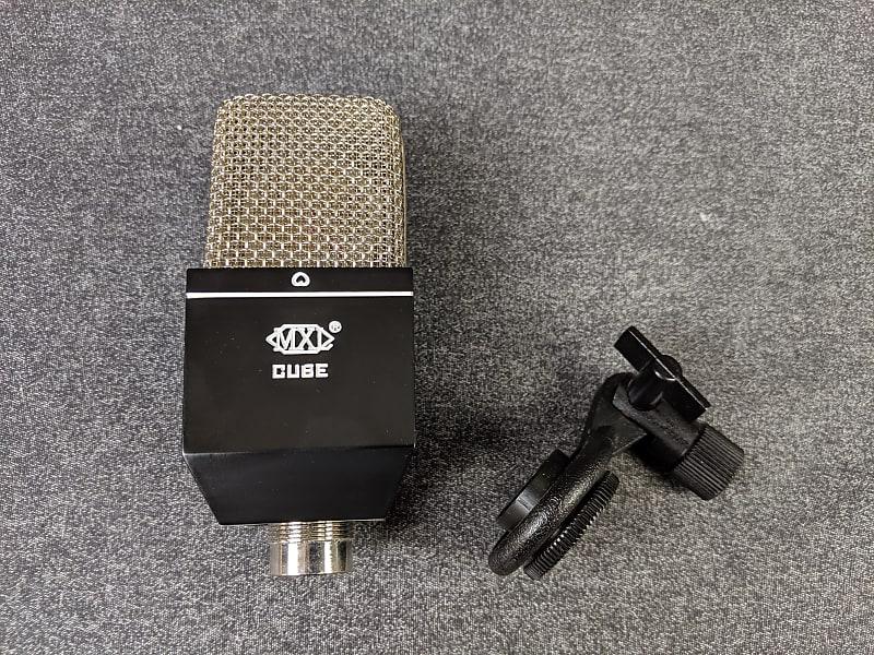 mxl cube microphone cardioid condenser drum mic w clip reverb. Black Bedroom Furniture Sets. Home Design Ideas