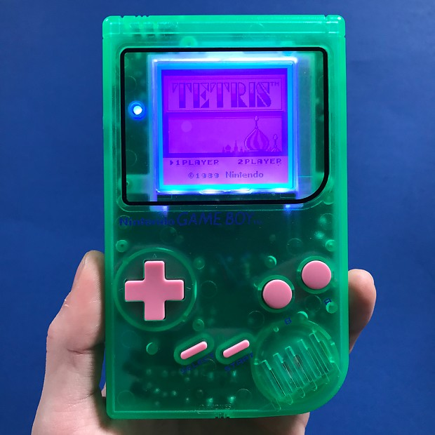 Gameboy DMG With Backlight, Prosound Mod, and More