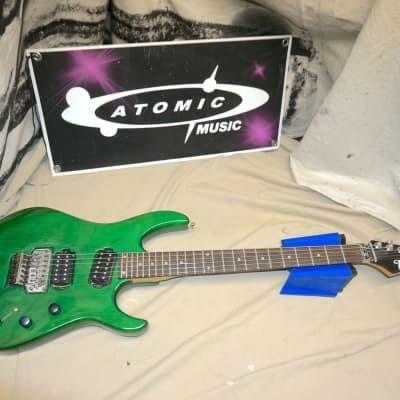 Hamer Slammer Series Diablo Guitar Green for sale