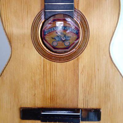 Telesforo Julve 1926. Old guitar Ricardo Sanchís. classic. Flamenco for sale