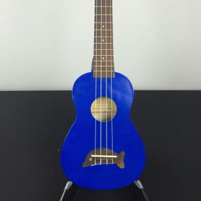 Makala MK-SD/MBL Dolphin Soprano Ukulele Metallic Blue