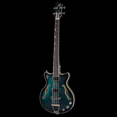 Duesenberg Alliance Dropkick Murphys Limited Edition Catalina Green Bass Pre-Order for sale