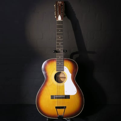 Stella Harmony H912 12 String 1966 Sunburst Kurt Cobain  Nirvana Acoustic Guitar for sale