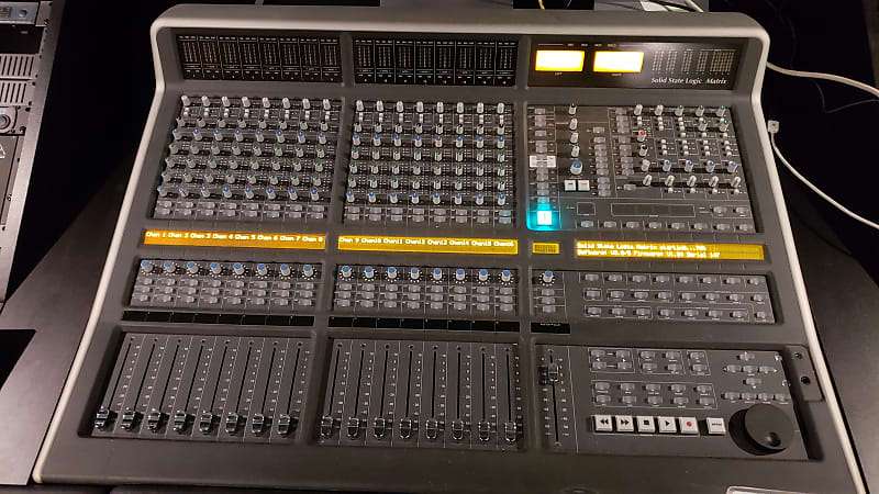 Solid State Logic SSL Matrix 40 Input Console with Automation + Custom  Argosy Desk