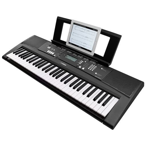 yamaha ez 220 61 key lighted portable keyboard reverb. Black Bedroom Furniture Sets. Home Design Ideas