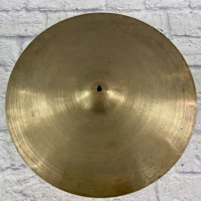 Zildjian Avedis 20 Ride Cymbal Unknown Series