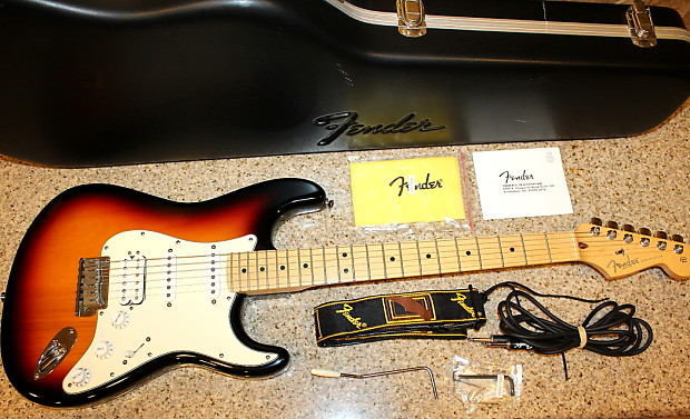 Fender American Standard Stratocaster Hss S1 Switching