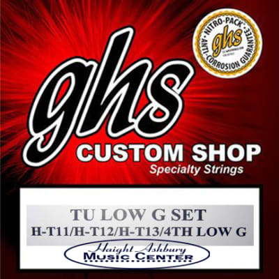 GHS Tenor Ukulele Strings, Low G