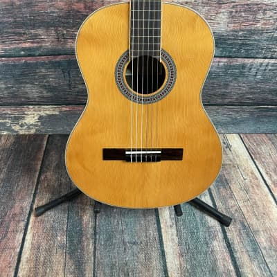 Used Antonio Hermosa AH-12 Classical Nylon String Acoustic Guitar with Gig Bag for sale