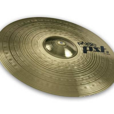 Paiste PST 3 Series 20 Inch Ride Cymbal with Warm & Full Sound Character (631620)