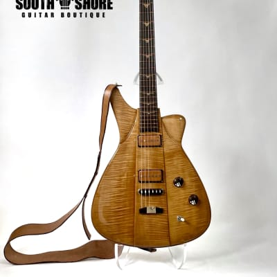 "Jesselli Guitars ""3-Piece Special"" Flame Maple. Fully Hollow & Carved 2021 / NEW (Authorized Dealer) for sale"