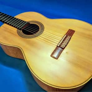GG-9 Goya Classical Guitar With Flame Maple Back and Sides Made in Sweden for sale