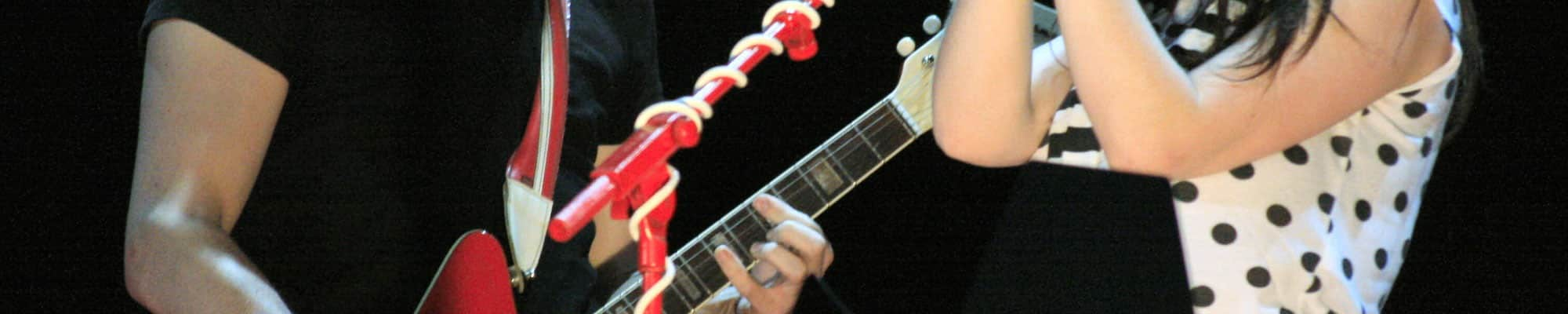Jack White And The Airline Res O Glass Guitars Reverb News Electric Guitar Input Wiring