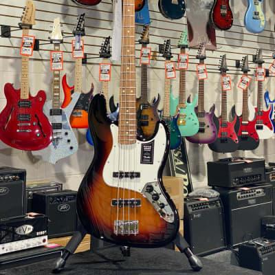 Fender Player Series Jazz Bass 3-Tone Sunburst Pau Ferro Fretboard w/ Free Shipping