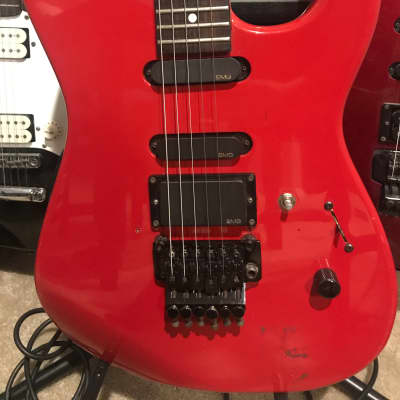 Charvel Model 3 1988 Red for sale