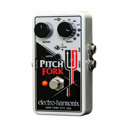 Electro Harmonix Pitch Fork Polyphonic Pitch Shifter Pedal for sale