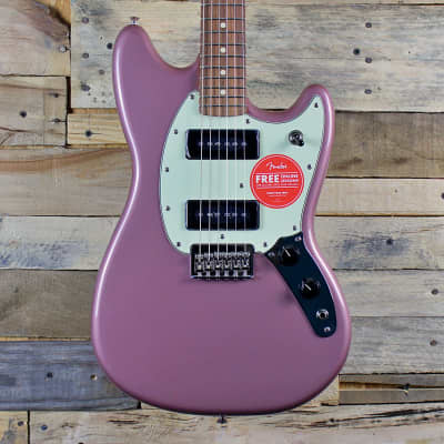 Fender Player Mustang 90 (2021, Burgundy Mist Metallic)