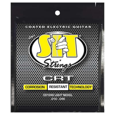 SIT Strings CS1046 Light CRT Coated Electric Strings .010-.046