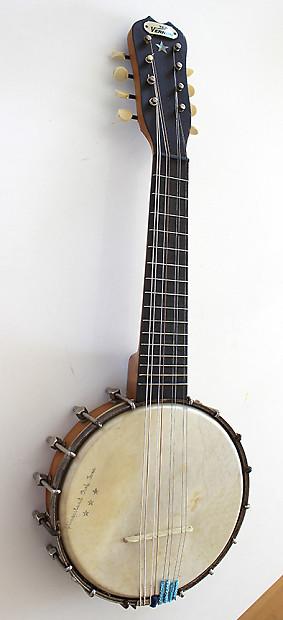 1920s Banjo Mandolin The Vernon By Bruno Reverb