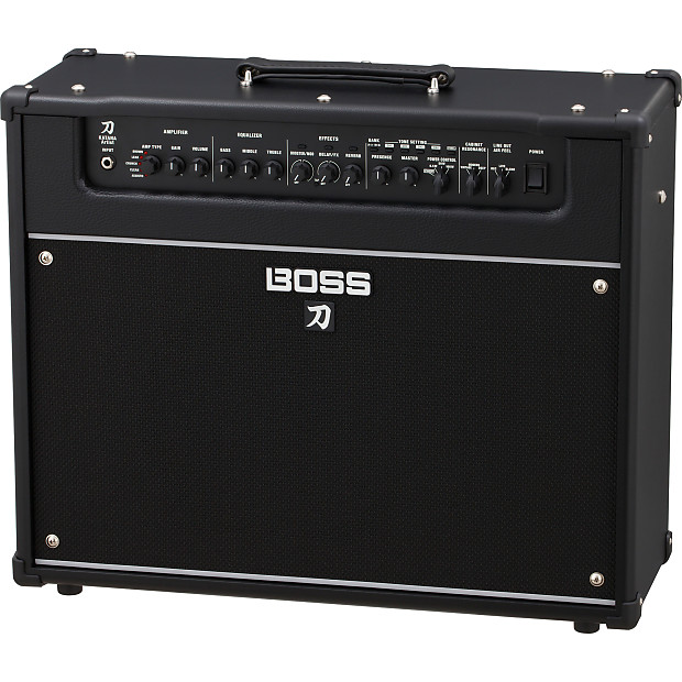 boss katana artist 100 watt 1x12 combo amp reverb. Black Bedroom Furniture Sets. Home Design Ideas